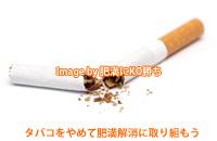 タバコをやめて肥満解消ダイエットに取り組もう