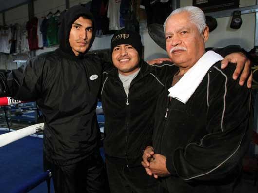 ボクシング一家に育ったミゲール・ガルシア