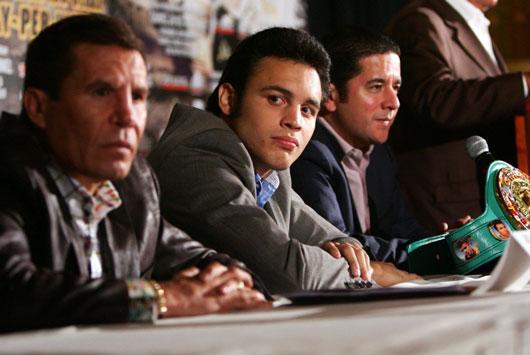 ビッグマッチに挑むフリオ・セサール・チャベス・ジュニア
