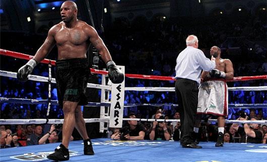 逆転KO勝ちで無敗をキープしたセス・ミッチェル